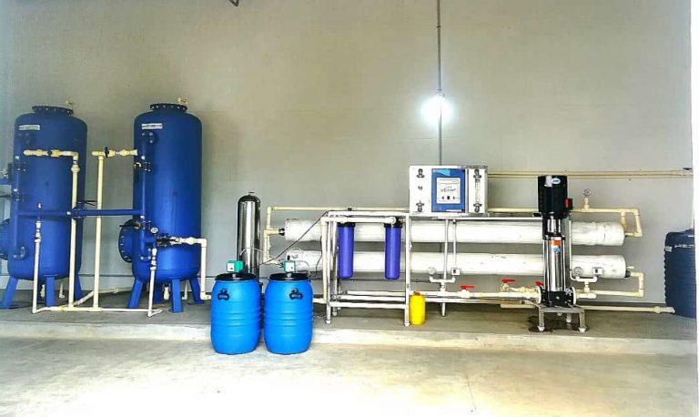 10000 liter ro plant