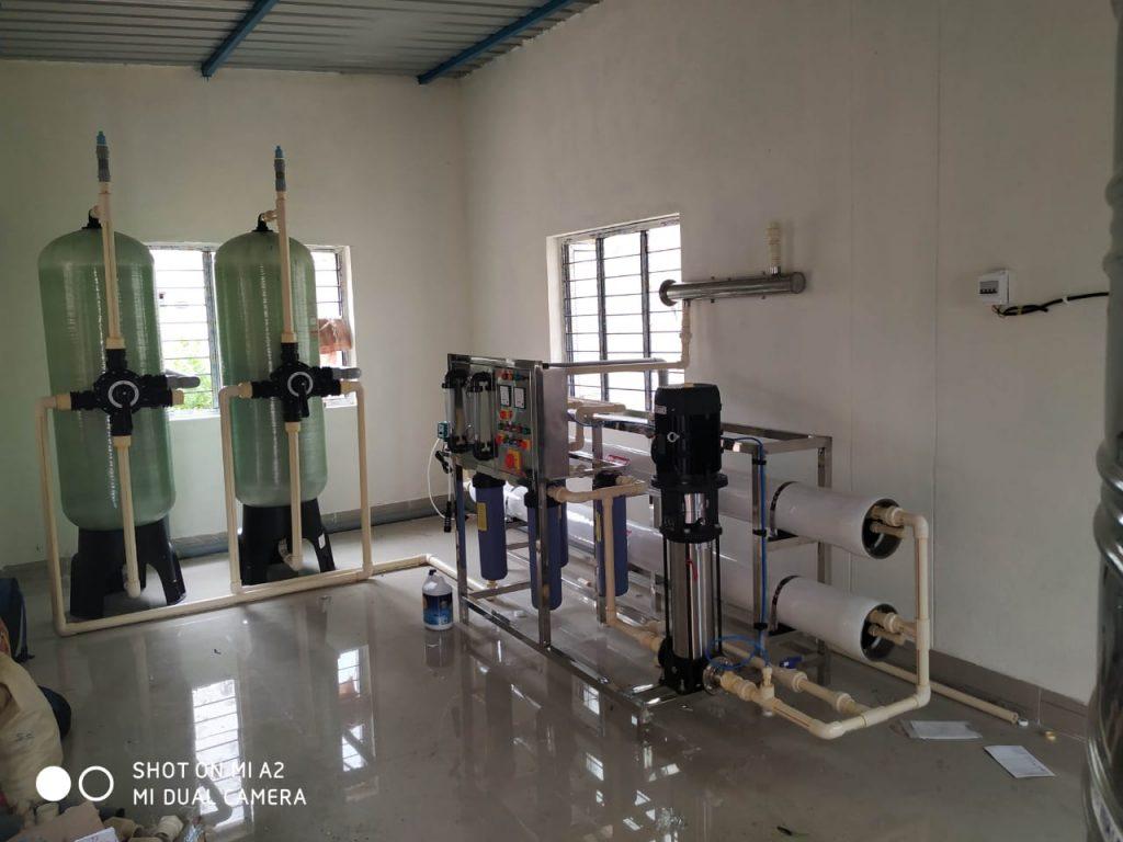 5000 liter ro plant